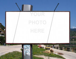 Billboard say it big if youve got something important to say stopboris Images