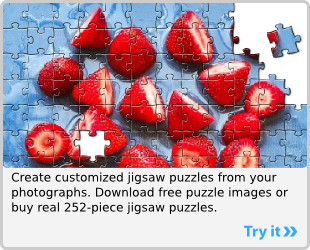 Jigsaw Puzzle: Create your own customized jigsaw puzzles.
