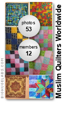 Muslim Quilters Worldwide. Get yours at bighugelabs.com