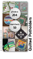Quilted Potholders. Get yours at bighugelabs.com