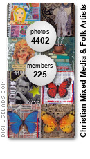 Christian Mixed Media & Folk Artists. Get yours at bighugelabs.com/flickr