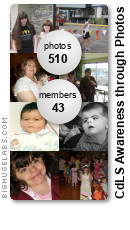 CdLS Awareness through Photos. Get yours at bighugelabs.com/flickr