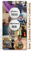 My patterns, your creations! Get yours at bighugelabs.com/flickr
