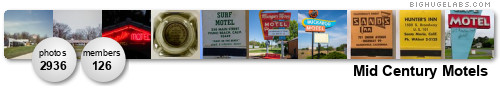 Mid Century Motels. Get yours at bighugelabs.com