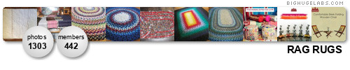 Rag Rugs (Braided or Crocheted ONLY Please). Get yours at bighugelabs.com/flickr