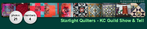 Starlight Quilters - KC Guild . Get yours at bighugelabs.com