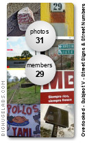 Overlooked - Subject V - Street Signs & Street Numbers. Get yours at bighugelabs.com/flickr
