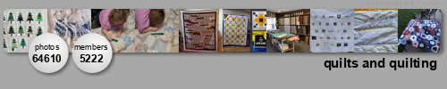 quilts and quilting. Get yours at bighugelabs.com