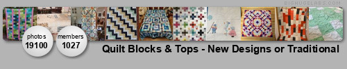Quilt Blocks & Tops - New Designs or Traditional. Get yours at bighugelabs.com