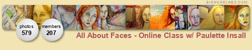 All About Faces - Online Class w/ Paulette Insall. Get yours at bighugelabs.com/flickr