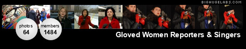 Gloved Women Reporters